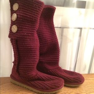 Super cute UGG Australia Knit Boots!